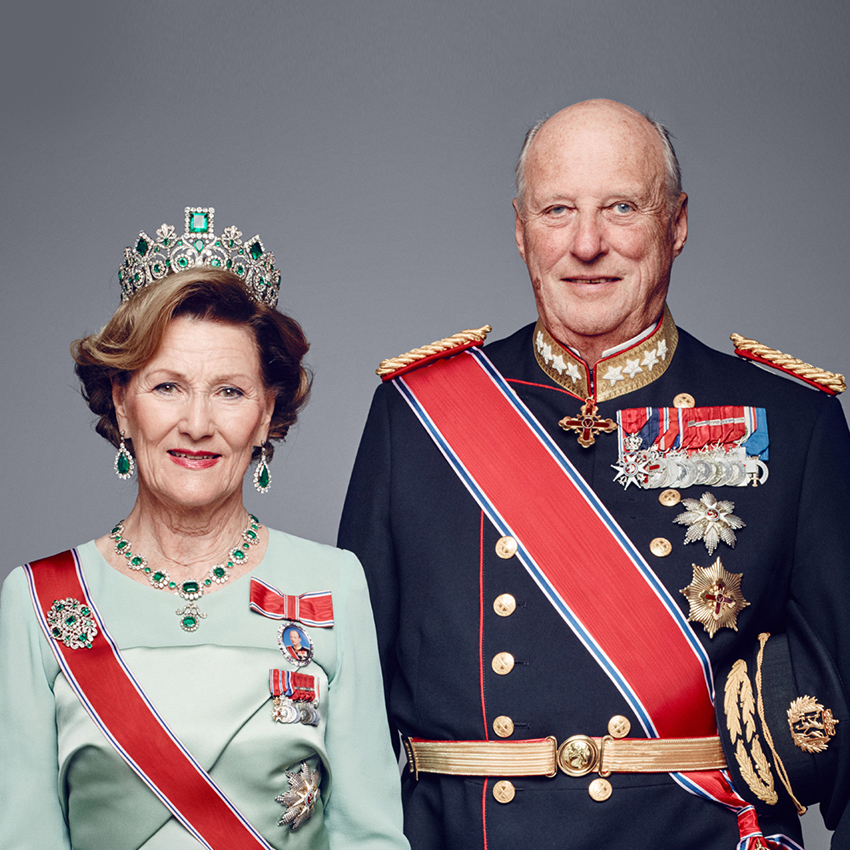 KING & QUEEN OF NORWAY