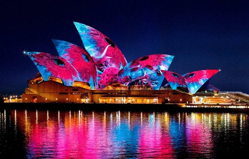 Vivid Festival Sydney Harbour Boat Hire & Crusies