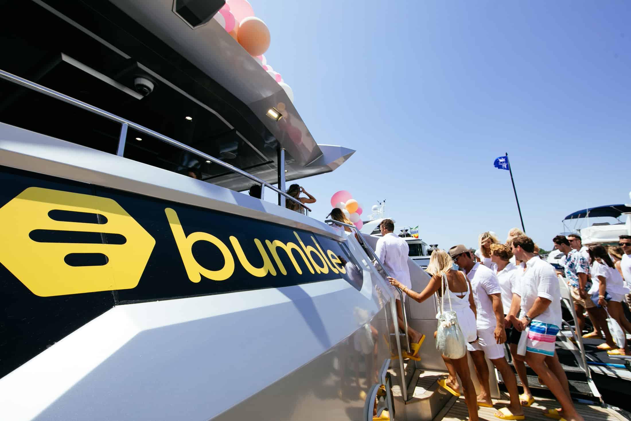 bumble sydney harbour