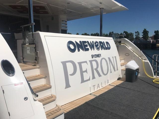 peroni sydney harbour