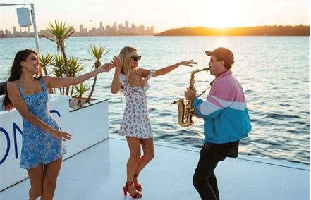 music sydney harbour