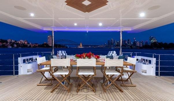 Sydney harbour luxury boat charter