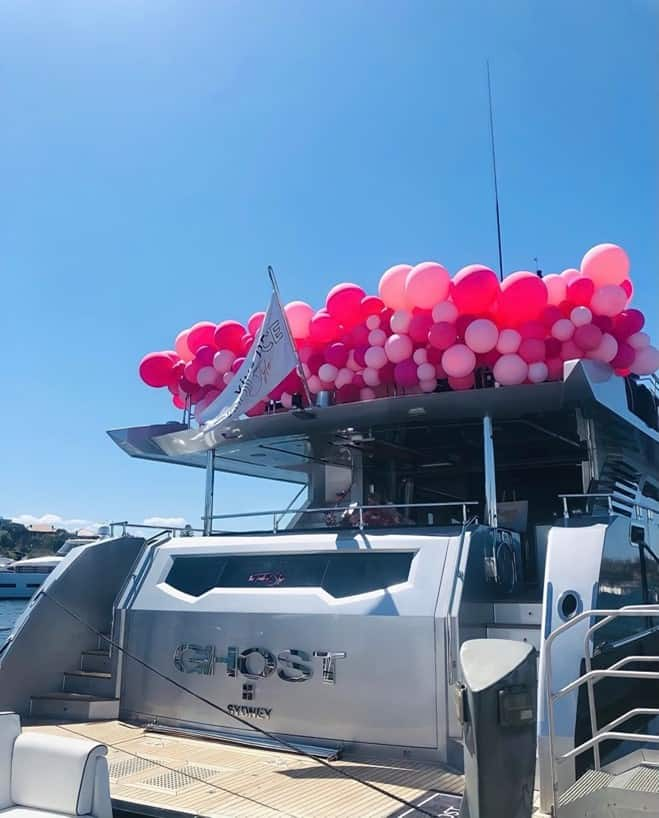 balloons styling sydney harbour